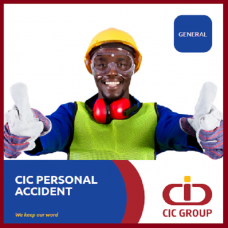 CIC Personal Accident Cover, Sum Insured Ksh 500,000, Plan I [Age 0-65]