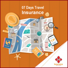 Sum Insured USD  50,000, [Age 0 to 70 Yrs] AAR Travel Insurance, 01 - 07 Days Trip, Bronze Worldwide Plan