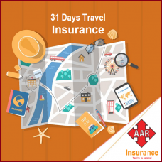 Sum Insured USD  60,000, [Age 71 to 75 Yrs] AAR Travel Insurance, 22 - 31 Days Trip, Silver Worldwide Plan