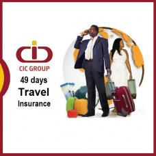 Sum Insured USD  45,000, [Age 0 to 25 Yrs] CIC Travel Insurance, 33 - 49 Days Trip, Student Worldwide Plan